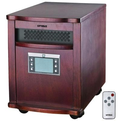1000-Watt to 1500-Watt Radiant Quartz Infrared Heater with Remote